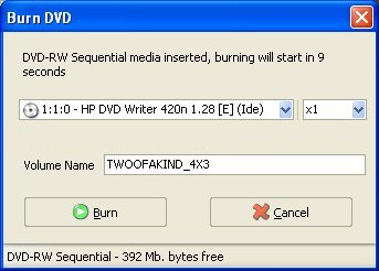 no media message after inserting dvd