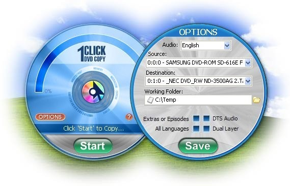 1CLICK DVD COPY 5 Screen shot